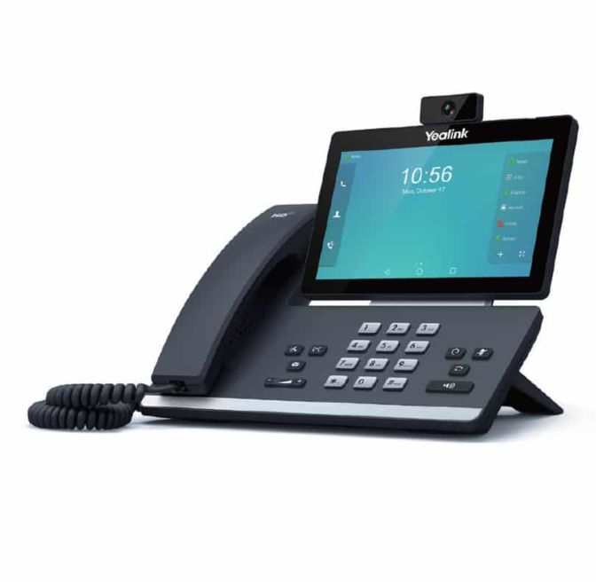 Yealink Middle end video phone T58V