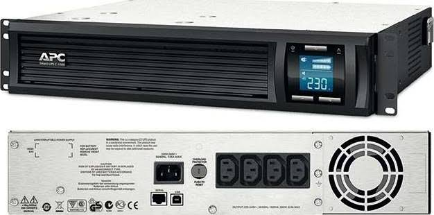 APC Smart-UPS C 1000VA LCD RM 2U 230V with SmartConnec 2